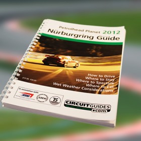 Nurburgring Guide. The Fast Way Round. The Nurburgring Circuit Guide is the definitive Guide to how to drive the Nurburgring F1 circuit and Nordschleife 'Ring' road circuit.